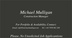 Preview of michaelmulligan.net